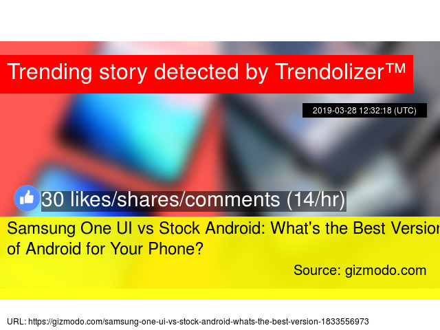 Samsung One UI vs Stock Android: What'