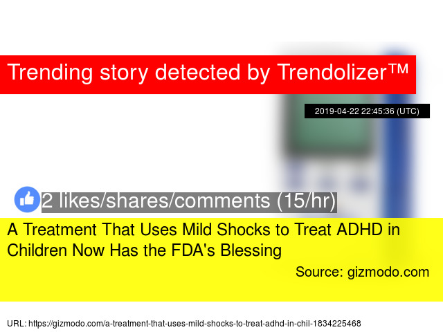 Fda To Ban Use Of Electric Shock Devices To Treat Children Stat >> A Treatment That Uses Mild Shocks To Treat Adhd In Children