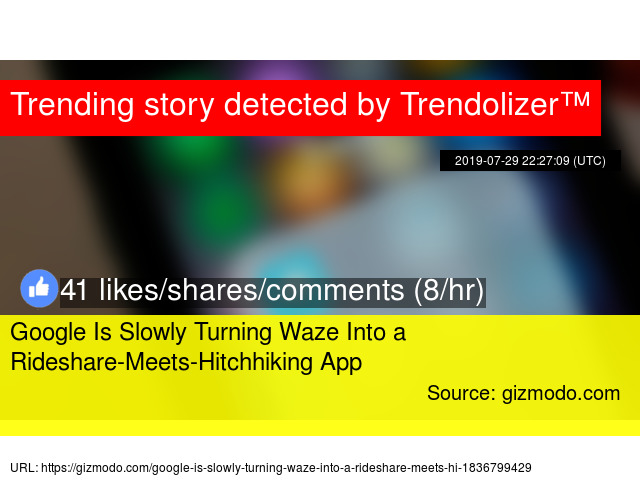 Google Is Slowly Turning Waze Into a Rideshare-Meets
